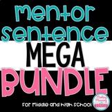 Mentor Sentences MEGA Bundle - Middle and High School
