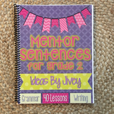 Mentor Sentences for Grade 2 HARD COPY Book