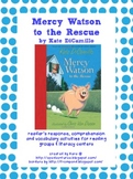 Mercy Watson to the Rescue Literature Study Packet
