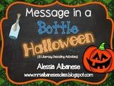Message in a Bottle - Halloween