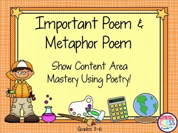 Important Poem & Metaphor Poems – Demonstrate Content Mast