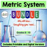 Metric System and Scientific Measurement Complete Unit Pla
