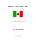Mexican Independence Day Lesson Plan