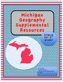 Michigan Geography Supplements Pack!