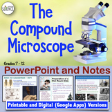 Microscope Powerpoint with Notes for Teacher and Student