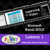 Microsoft Excel 2013 Video Tutorial - Lesson 1