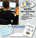 Microsoft Excel Video Tutorial Bundle Part 3 - Lessons 9-10