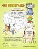 Mid-Atlantic States-'Our United States' 32-Page Lesson Pla