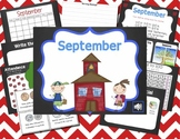 Mimio September Calendar Morning Meeting