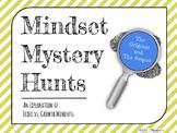 Mindset Mystery Hunt Pack: Fixed vs. Growth Mindsets Bundl