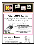 Mini ABC  Books. Linking Beginning Sounds, Rhyme and the L
