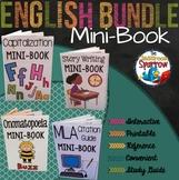 ELA Student Mini-Book Reference Bundle (grammar, punctuati