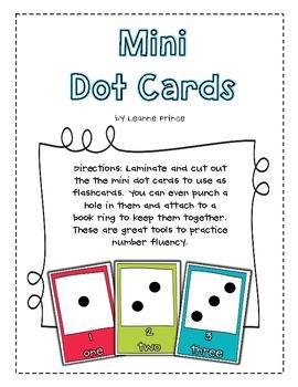 Mini Dot Cards Freebie!