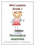 Mini Lessons - Phonological Awareness - Grade 1