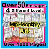 Mini Monthly Close Reading Club {Use for Differentiated We