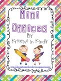 Mini Office/Resource Folder Materials