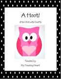 Mini Unit with Craftivity: A Hoot!