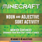 Noun and Adjective Sort for Minecraft