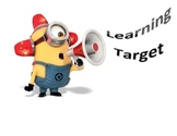 Minion Learning Target Sign