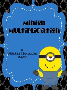 Multiplication Game - Minion Themed