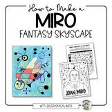 Art Lesson: Miro Skyscapes