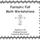 Miss Frizzell's Kindergarten Math Work Stations Numbers 11