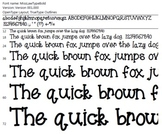 Miss Law's Type Bold Font
