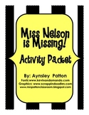 Miss Nelson is Missing!  Activity Pack
