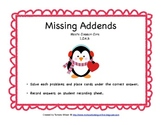 Missing Addends - Common Core 1.OA.8