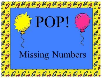 Missing Number POP! Game