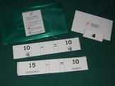 Missing Number subtraction sentences to 10-math center-fil