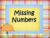 Missing Numbers Center