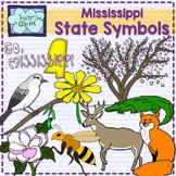 Mississippi state symbols clipart
