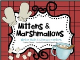 Mittens & Marshmallows {Winter Math and Literacy Centers}