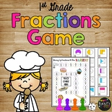 Mixing Up Fractions At The Bakery- Fractions Game- First Grade