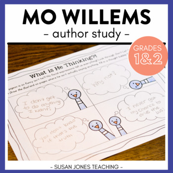 Mo Willems (An Author Study for Grades K-2)
