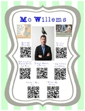 Mo Willems Author Study with QR Codes