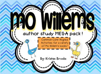 Mo Willems MEGA Activity Pack/Author Study