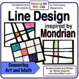 Art Lesson - Mondrian-Inspired Line Design