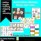 Money- Australian notes and coins