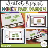 Money Task Cards 4--The Restaurant (Bills only) {Autism; S