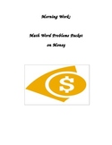 Money Word Problems for Math Test Prep