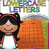 Lowercase Letters {Trace, Stamp, Write}