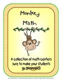 Monkey Math Centers