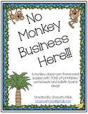Monkey Theme Classroom Pack