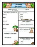 Monkey Theme Newsletter Template - WORD