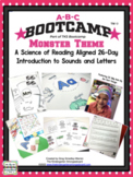 Monster ABC BOOTCAMP! An Editable 26 Day Introduction To L