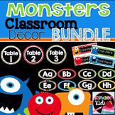 Monster Classroom Decor Bundle