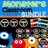 Monster Classroom Decor Bundle