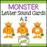 Monster Letter Sound Matching Cards A-Z